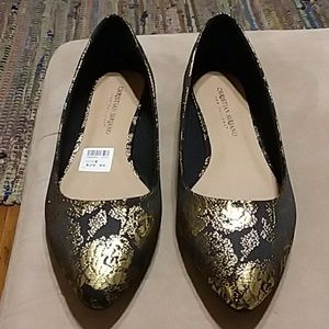 Christian Siriano ladies flats